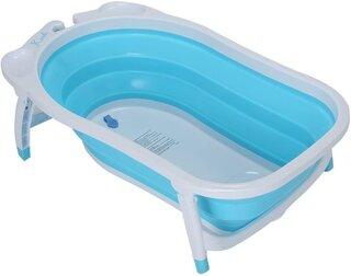 Amazon | KARIBU [ カリブ ] Folding Bath Blue ブルー (131949)