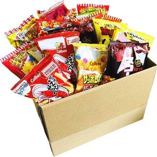 Amazon   カルビー・菓道など人気駄菓子のスナック袋だけ集めました! (132202)