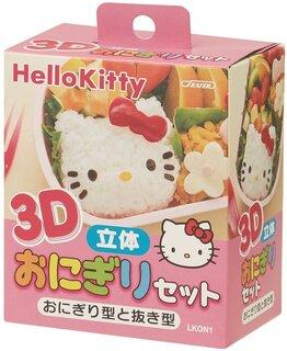 Amazon.co.jp : スケーター 3D 立体 おにぎり型 セット ハローキティ サンリオ 日本製 LKON1 : ホーム&キッチン (133124)
