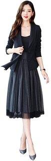 Amazon | フォマール スーツ レディース 2点セット スカートスーツ パーティー (134374)