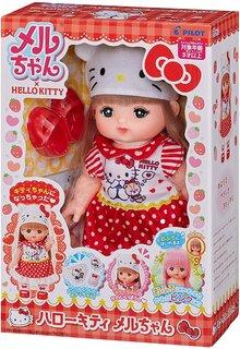 Amazon | メルちゃん お人形セット ハローキティメルちゃん  (134773)