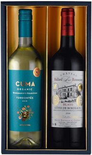 Amazon.co.jp: ワインセット 赤ワイン コンクール金賞受賞の赤白ワインギフト (134855)