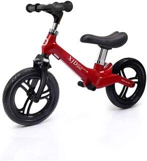 Amazon | XJD ペダルなし自転車 幼児 子供用 バランスバイク 超軽量 マグネシウム合金製 キックバイク トレーニングバイク 高さ調整可 2歳~5歳対象 (135457)