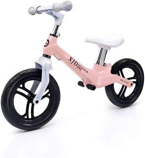 Amazon | XJD ペダルなし自転車 幼児 子供用 バランスバイク 超軽量 マグネシウム合金製 キックバイク トレーニングバイク 高さ調整可 2歳~5歳対象 (135525)