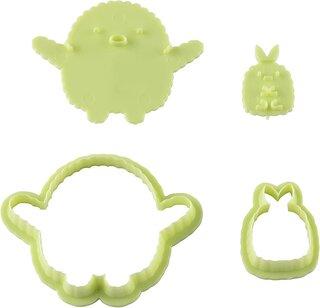 Amazon.co.jp: 貝印 KAI クッキー型 スタンプ で 表情 が 作れる だっこ 抜き型セット すみっコぐらし (135896)