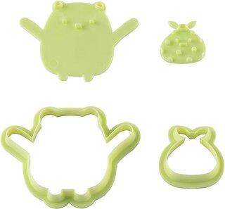 Amazon.co.jp: 貝印 KAI クッキー型 スタンプ で 表情 が 作れる だっこ 抜き型 セット (135901)