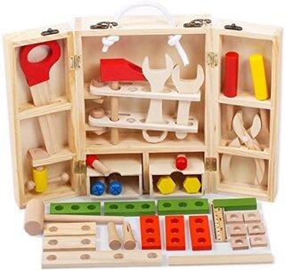 Amazon | JUST style 【国内検査済 たっぷり38パーツ】男の子のおもちゃ 積み木  (136546)
