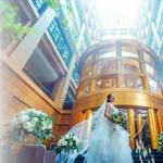 【想いが繋がるウエディング】ハイアットリージェンシー福岡での結婚式◎