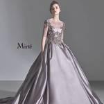 """【ウエディングドレス""""Mirte""""】シンプルで洗練されたドレスが魅力◎"""