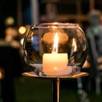 【結婚式DIY◎】LEDキャンドルで受付スペースをムーディに♡