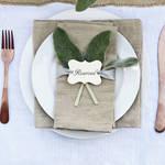 【結婚式DIYのススメ★】席札手づくり率32%!!手づくりキットで楽々DIY
