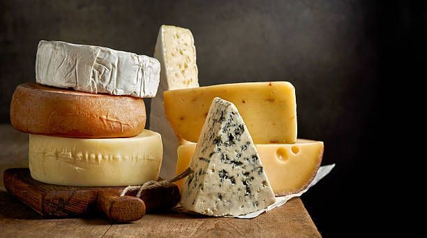 各種のチーズ