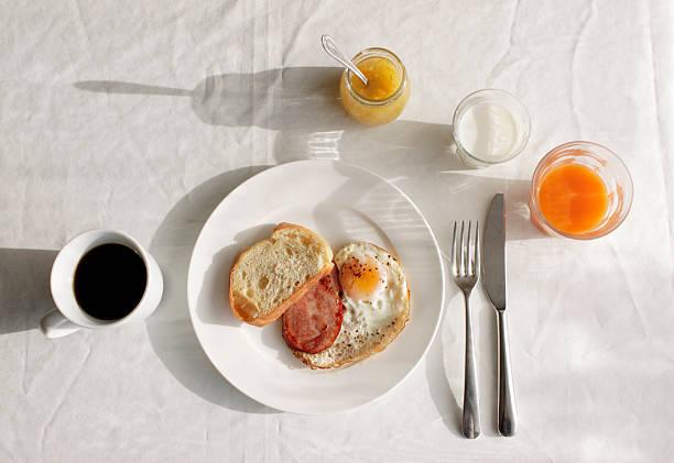 【3】朝食はウォーキング後に