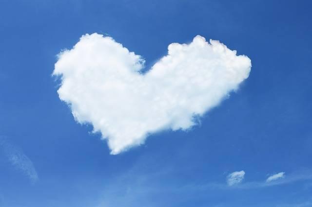 Free photo: Cloud, Heart, Sky, Blue, White - Free Image on Pixabay - 600224 (1509)