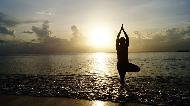 Free photo: Beach, Sunset, Yoga - Free Image on Pixabay - 1835213 (2104)