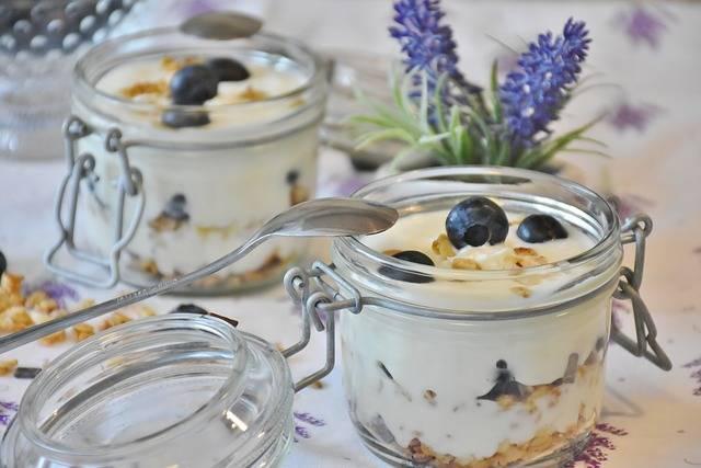 Free photo: Yogurt, Berries, Blueberries - Free Image on Pixabay - 1612787 (2892)