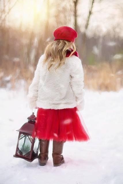 Free photo: Little Girl, Winter, Snow, Red - Free Image on Pixabay - 628144 (3164)