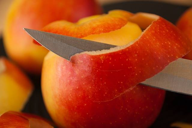 Free photo: Apples, Knife, Fruit, Peel, Skin - Free Image on Pixabay - 1803044 (4983)