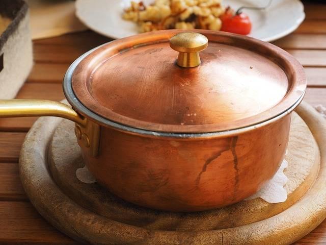 Free photo: Pot, Brass Pot, Cheese Noodles - Free Image on Pixabay - 609781 (5085)