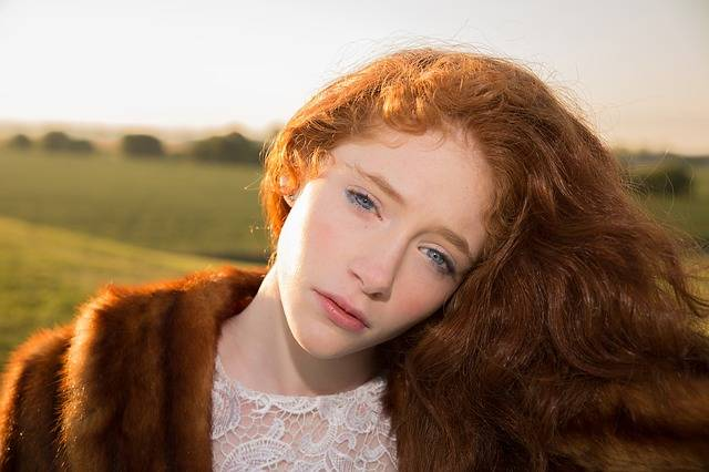 Free photo: Girl, Red Hair, Blue Eyes, Sunrise - Free Image on Pixabay - 1642695 (5358)