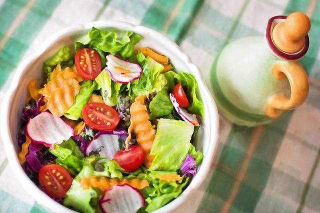 Free photo: Salad, Fresh, Veggies, Vegetables - Free Image on Pixabay - 791891 (5914)