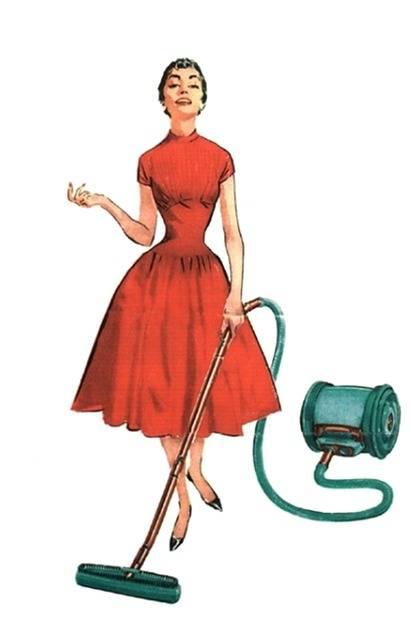 Free illustration: Retro, Vintage, Lady, Housewife - Free Image on Pixabay - 1291608 (23643)