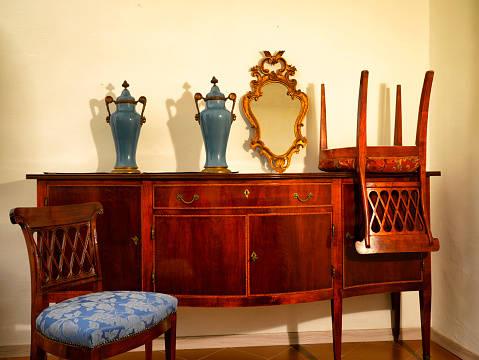 ビンテージの家具