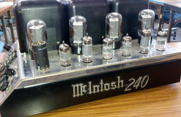 McIntosh マッキントッシュ 管球式パワーアンプ...