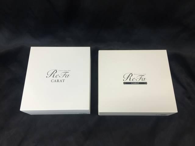 さらに、これが、二世代前の箱(右)と一世代前の箱(左)...