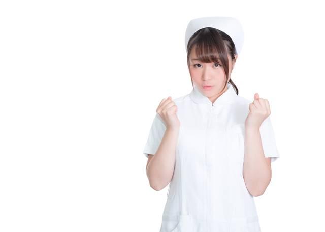 頑張って治療しましょう!と応援する美人看護師|フリー写真素材・無料ダウンロード-ぱくたそ (2984)