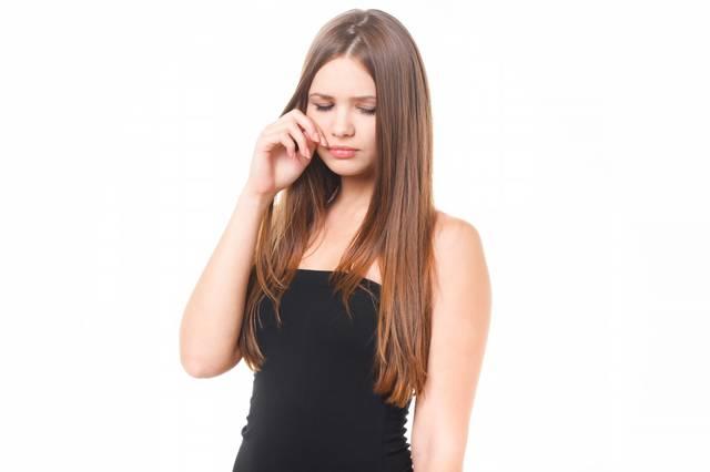 悲しくて涙する女性|フリー写真素材・無料ダウンロード-ぱくたそ (3160)