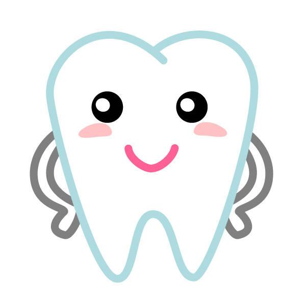 歯くん(カラー)イラスト/無料イラストなら「イラストAC」 (6403)