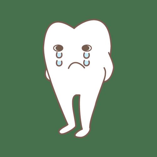 モル(めそめそ) イラストNo.1477【歯科素材.com】 (7071)