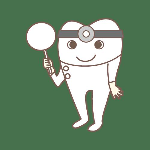モル(Dr.プラカード1)|イラストNo.1536【歯科素材.com】 (7096)