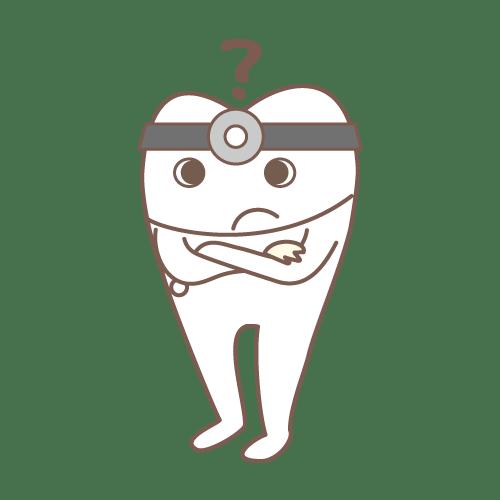 モル(Dr.んん??)|イラストNo.1465【歯科素材.com】 (7263)