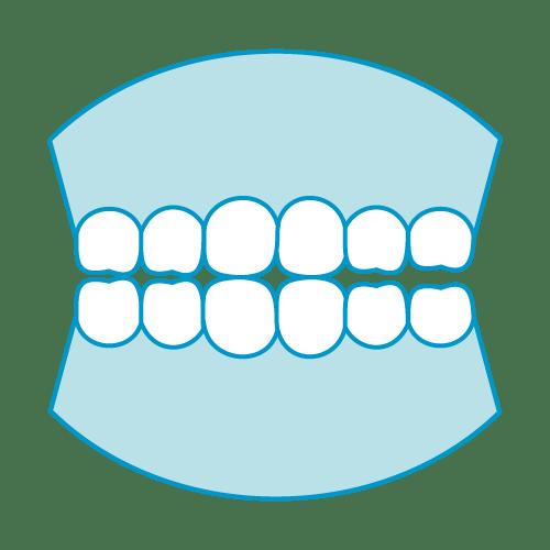 入れ歯のアイコン|イラストNo.2104【歯科素材.com】 (7692)