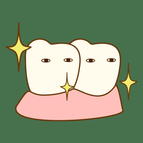 キラリ|イラストNo.497【歯科素材.com】 (8497)