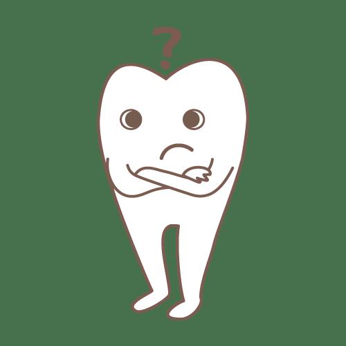 モル(んん??)|イラストNo.1463【歯科素材.com】 (9249)