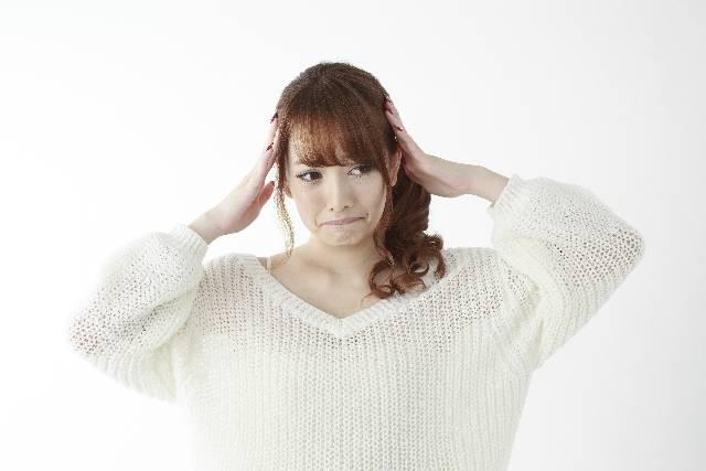 頭を抱える女性3|写真素材なら「写真AC」無料(フリー)ダウンロードOK (9395)