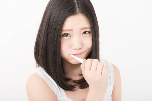 歯みがき女子5|写真素材なら「写真AC」無料(フリー)ダウンロードOK (11536)