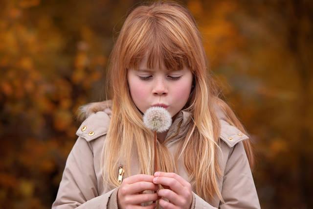 [フリー写真] たんぽぽの綿毛と息を吹きかける女の子でアハ体験 -  GAHAG | 著作権フリー写真・イラスト素材集 (11805)