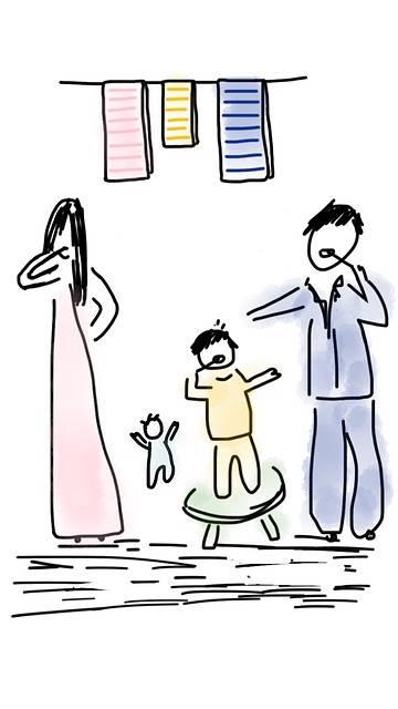 Free illustration: Family, Morning, Child, Baby - Free Image on Pixabay - 1254495 (1116)