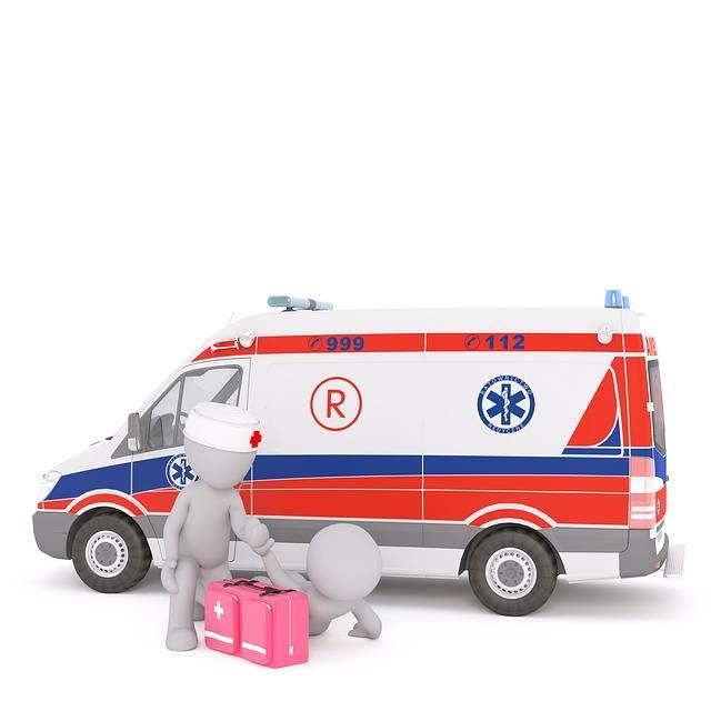 Free illustration: Ambulance, First Aid, White Male - Free Image on Pixabay - 1874765 (1812)
