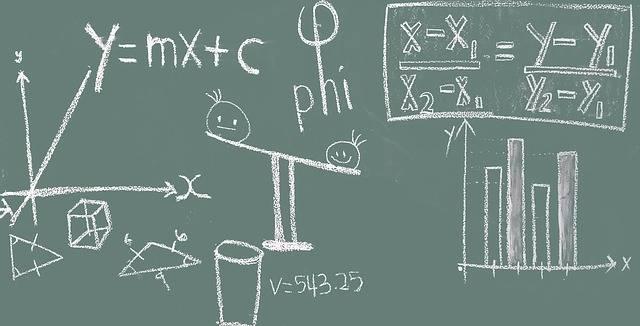 Free photo: Math, Blackboard, Education - Free Image on Pixabay - 1547018 (1824)