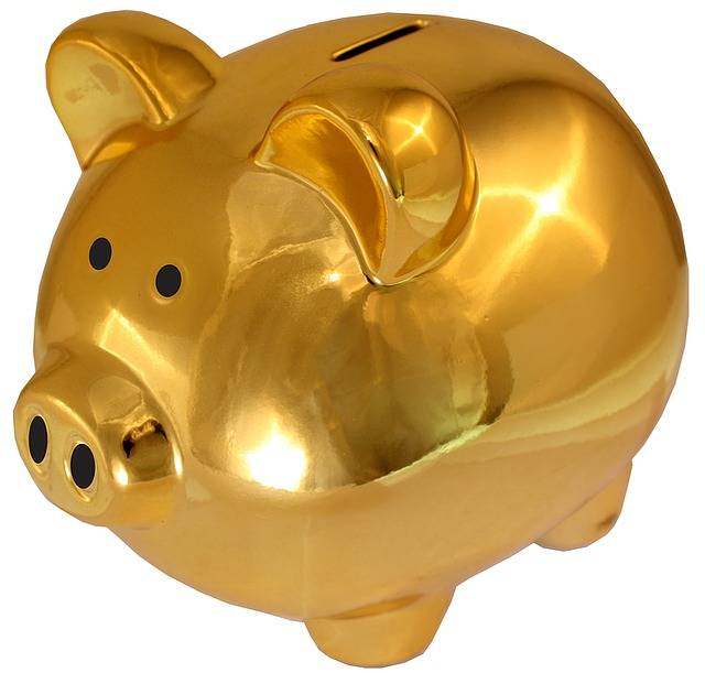 Free photo: Piggy Bank, Golden-Saving Sham - Free Image on Pixabay - 1270926 (3199)