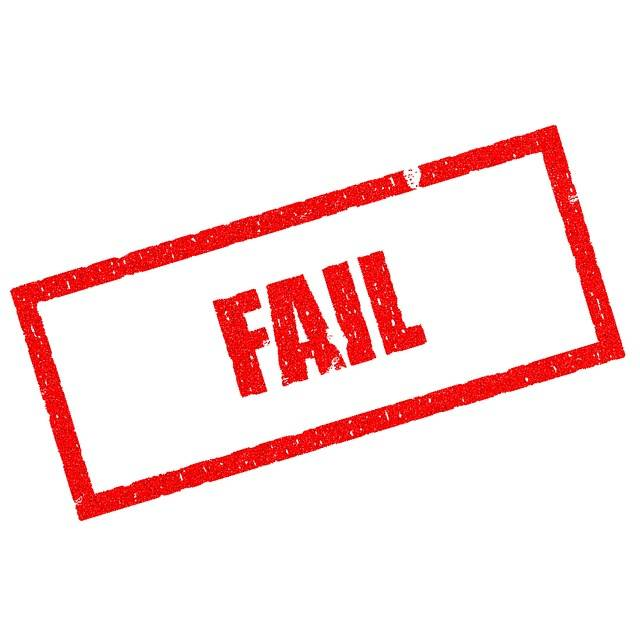 Free illustration: Fail, Lose, Failing, Failure - Free Image on Pixabay - 1714367 (5604)