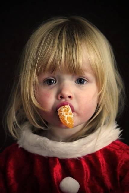 Free photo: Girl, Portrait, Christmas, Orange - Free Image on Pixabay - 714212 (11049)
