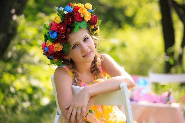 Free photo: Wreath, Kids, Summer - Free Image on Pixabay - 842237 (11093)