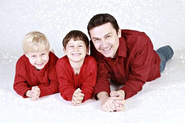 Free photo: Family, Father, Children, Boys - Free Image on Pixabay - 557108 (11120)