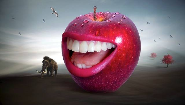 Free photo: Fantasy, Apple, Red, Mouth, Tooth - Free Image on Pixabay - 2748828 (12135)